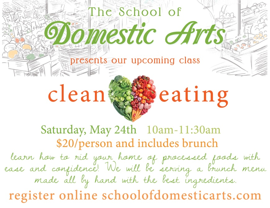 Clean Eating Brunch May 24th